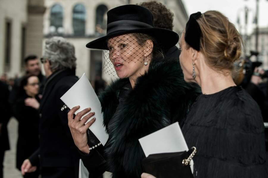 Messe hommage à Franca Sozzani : Kate Moss