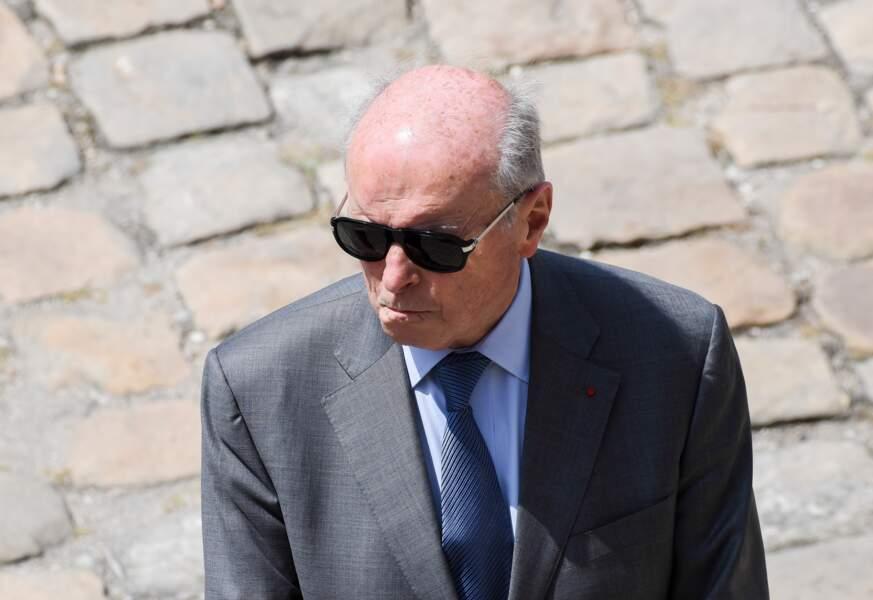 Hommage national aux Invalides à Claude Lanzmann : Jacques Toubon