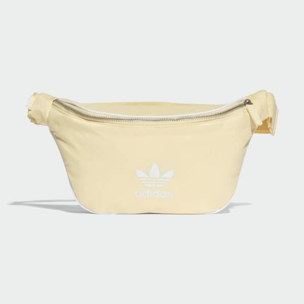 Le retour du sac banane : Sac banane jaune, Adidas Originals, 24,95 euros