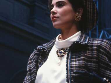 Les looks de défilé de Cristina Cordula en Chanel : son hommage à Karl Lagerfeld