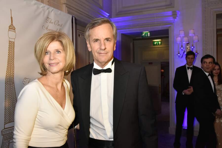 40ème Best Awards : Bernard de la Villardière et sa femme, Anne de la Villardière