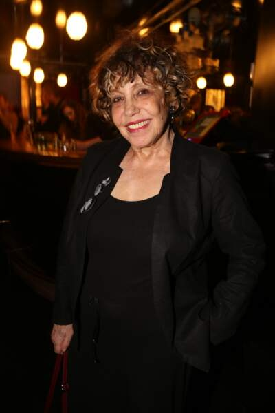 Liliane Rovere à la fête de fin de tournage de la saison 3 de Dix pour cent, le 25 avril à Paris