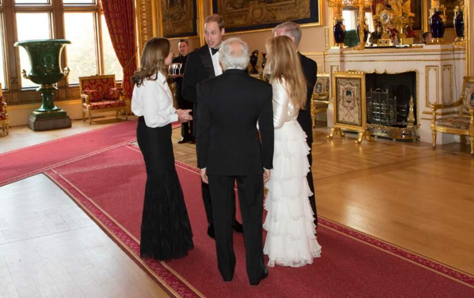 Toute la famille Lauren a fait le déplacement des Etats-Unis. Un minimum quand on ouvre les portes de Windsor