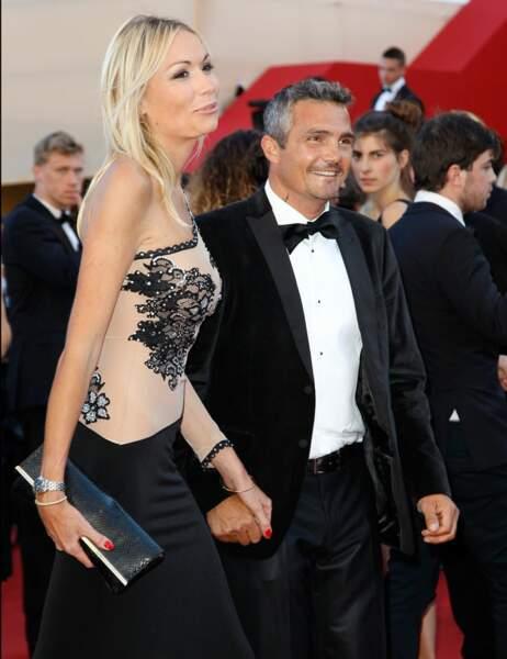 Richard Virenque et sa compagne
