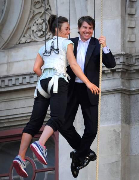 Tom Cruise, un acteur qui monte (avec Rebecca Ferguson)