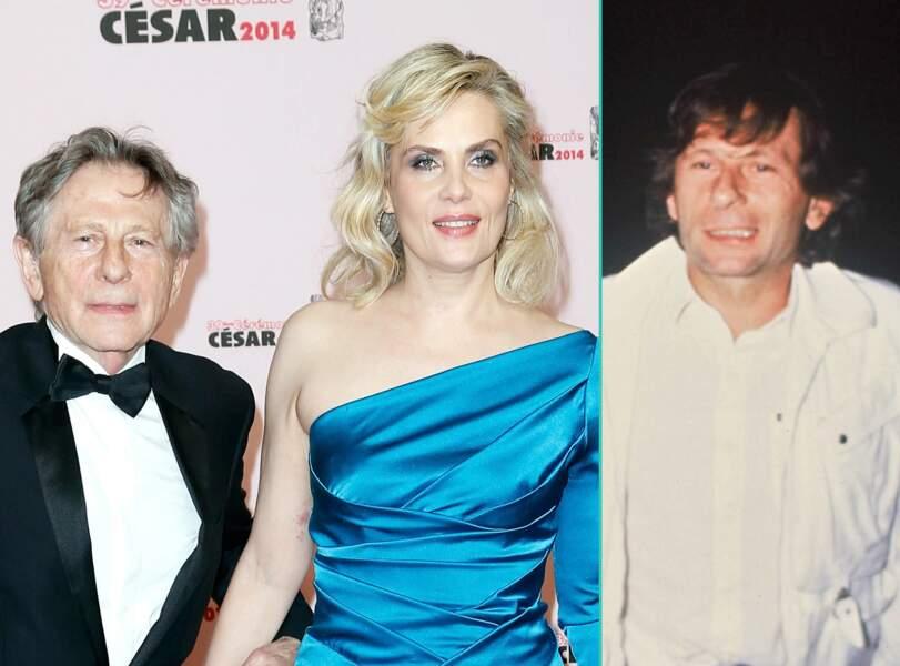 Roman Polanski aujourd'hui à 82 ans et à 49 ans, l'âge actuel de sa femme Emmanuelle Seigner
