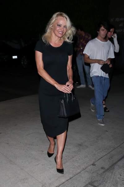 Pamela Anderson retrouve Brandon et Dylan