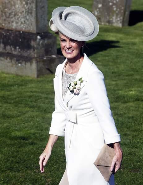 La mère du tennisman a sorti son plus beau chapeau