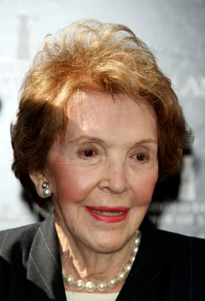 Nancy Reagan s'est éteinte le 6 mars 2016 à l'âge de 94 ans