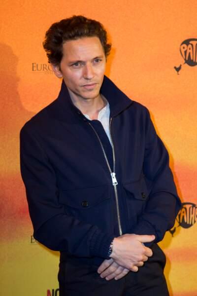 Le chanteur Raphaël au Gaumont Opéra à Paris pour le nouveau film de Guillaume Canet