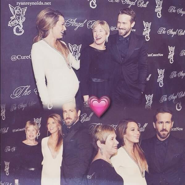Ryan Reynolds a mis sa mère et sa compagne à l'honneur