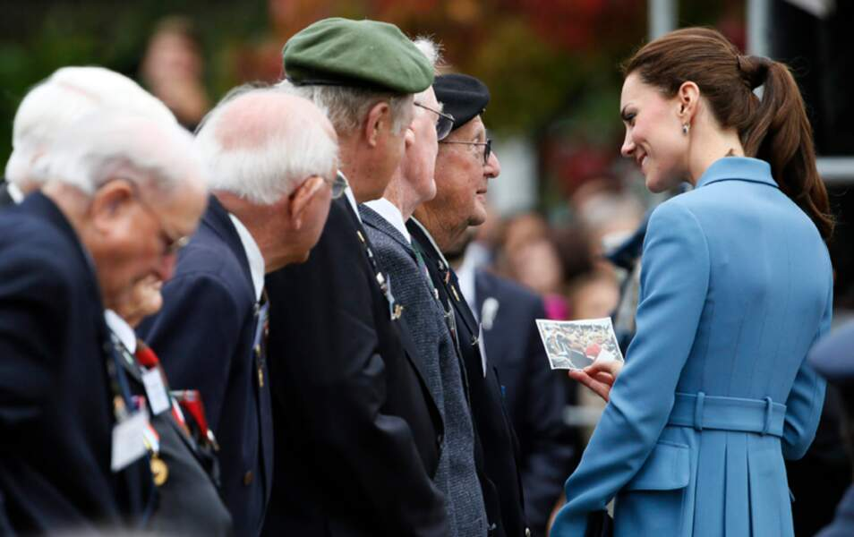 Kate rencontre des vétérans...