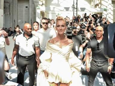 VOICI - Céline Dion en retard mais divine au défilé d'Alexandre Vauthier