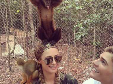 Les people posent avec des animaux... et ce ne sont plus eux les stars