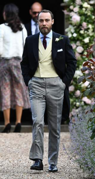 James Middleton, le frère de Kate et Pippa