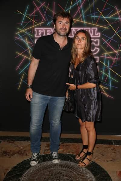 L'animateur radio Eric Jean-Jean et sa femme