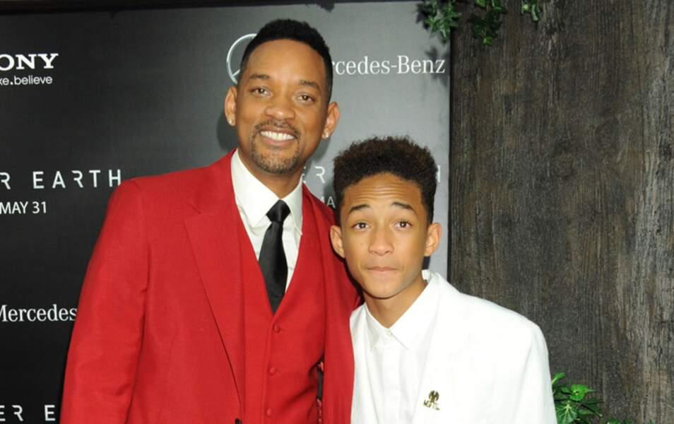 Will Smith et son fils Jaden