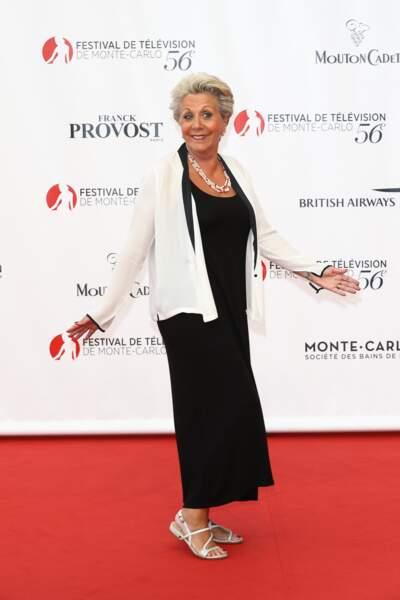 Françoise Laborde était sur son 31