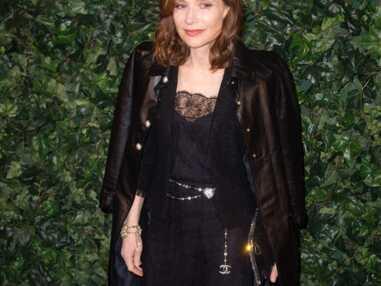 La rétro look d'Isabelle Huppert