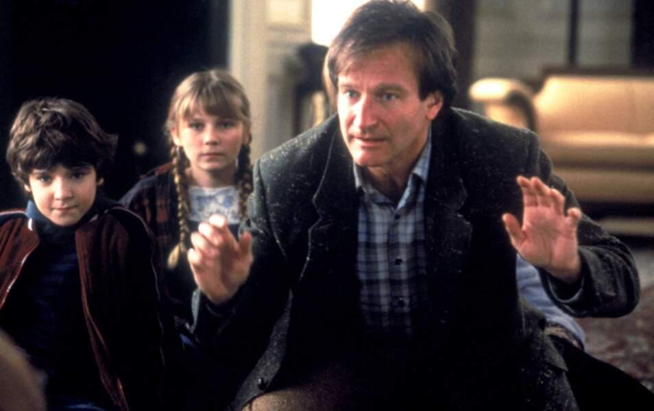 Dans Jumanji, il est Alan Parrish adulte pour la caméra de Joe Johnston en 1995