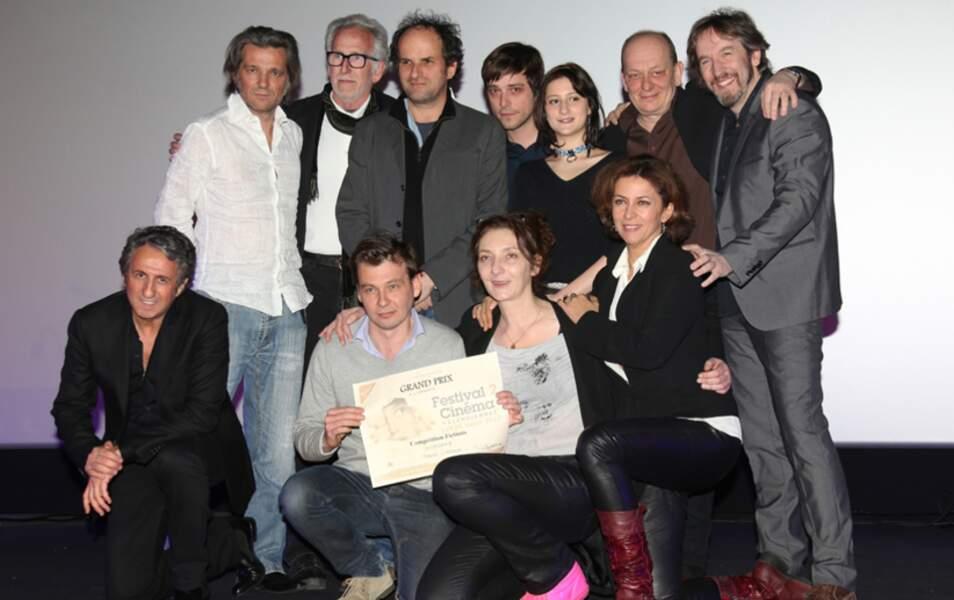 Y. Le Bolloc'h, Corinne Masiero, Lola Creton, Julien Baumgartner, C. Touzet, Lionel Ablanski and Richard Anconina