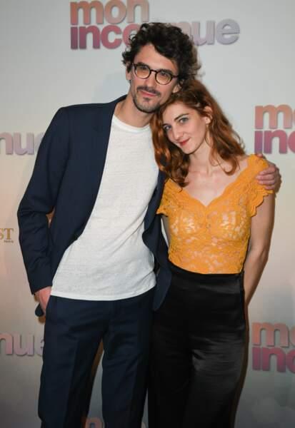Hugo Gélin et sa soeur Sarah à l'avant-première de Mon Inconnue au cinéma UGC Normandie, à Paris le 1er avril 2019