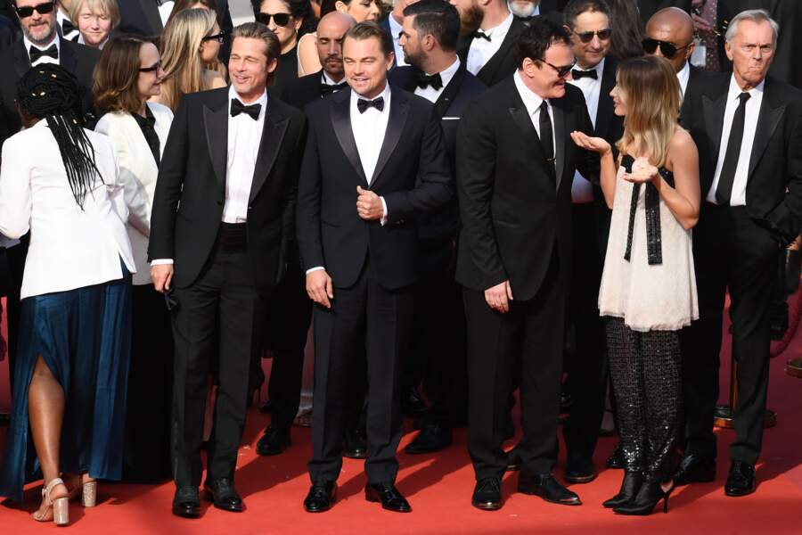 Cannes 2019 - L'équipe de Once upon a time in Hollywood