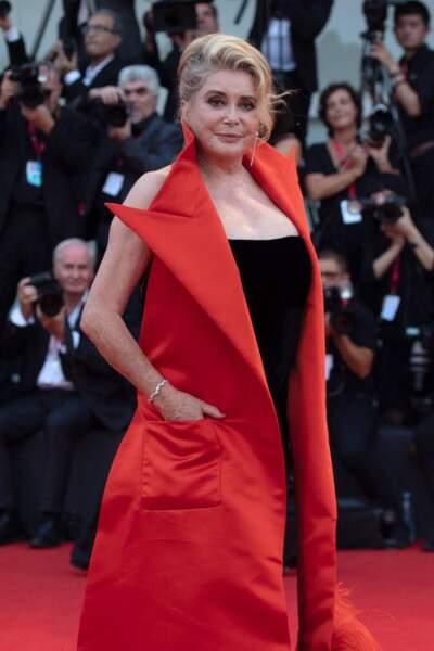 Catherine Deneuve à la Mostra de Venise 2019