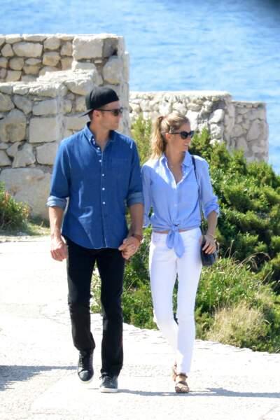 Gisele Bünchen et son mari Tom Brady : Capri, c'est vraiment pas du tout fini !