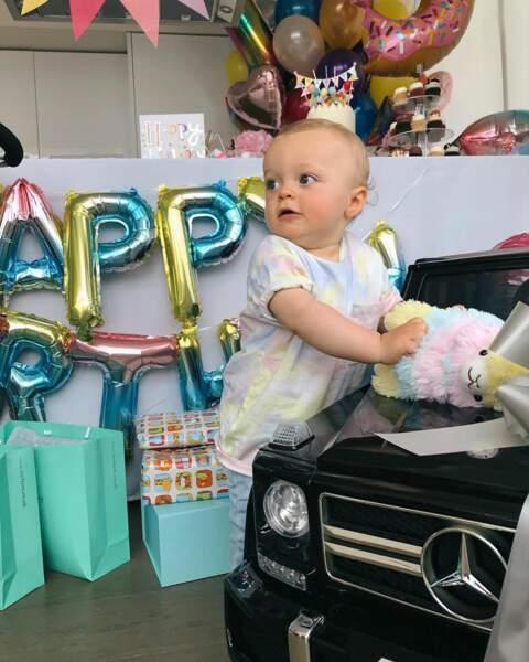 En plus de cette très belle fête, le petit Marlon a reçu de nombreux cadeaux pour son anniversaire