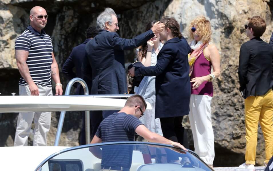 Steven Spielberg a déjà pris ses quartiers à Cannes et a déjeuné au très select Eden Roc