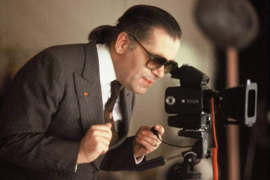 L'évolution physique de Karl Lagerfeld : le créateur en 1987