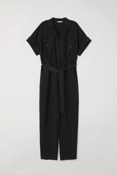 Combi-pantalon, H&M, 24,99 euros au lieu de 49,99 euros