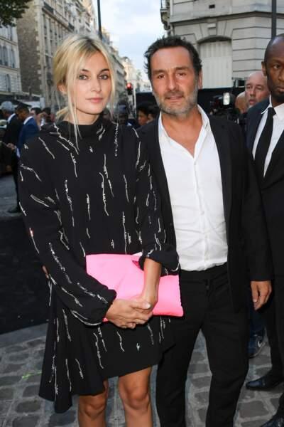Dîner Vogue : Gilles Lellouche et sa compagne