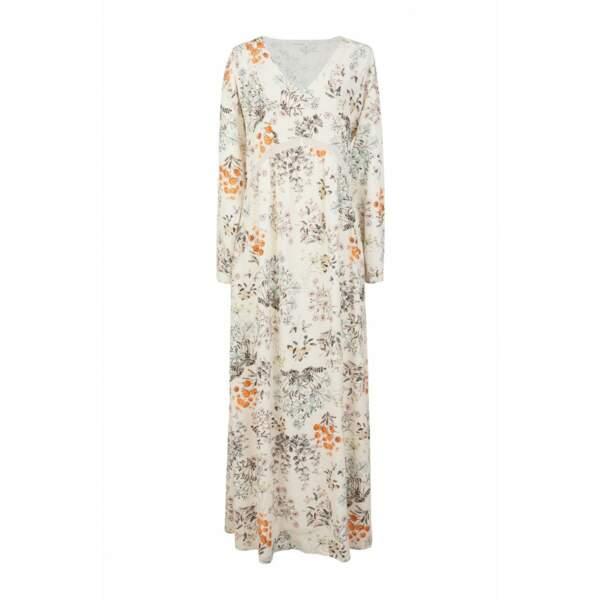 Naf Naf robe longue imprimée 79,99 euros