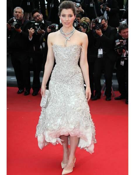 Jessica Biel au Festival de Cannes