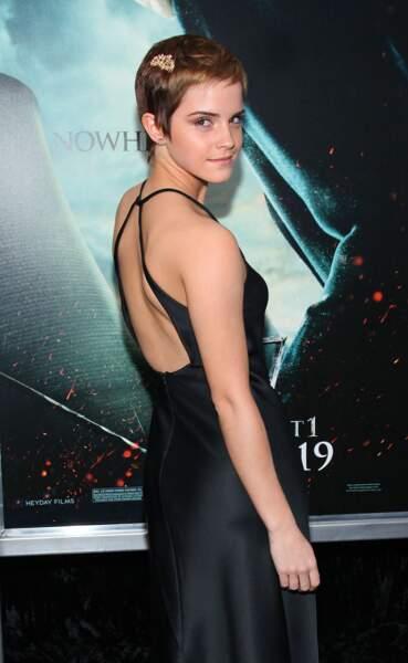 10 coiffures pour cheveux courts - Emma Watson