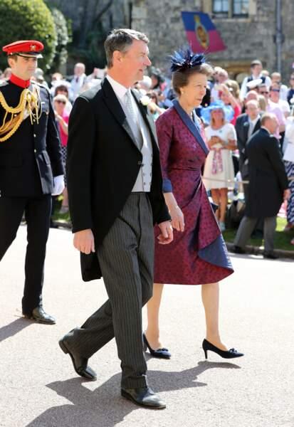 Timothy Lawrence et la princesse Anne