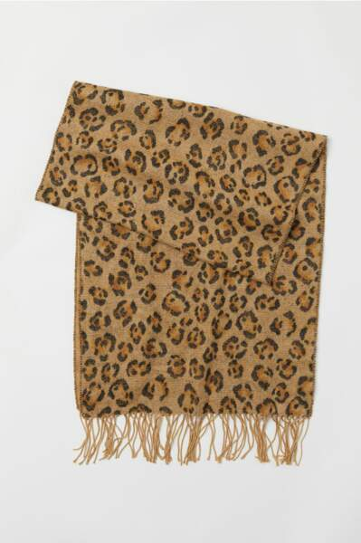 Echarpe léopard, H&M, 19,99€