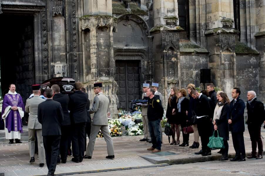 La famille et les proches d'Alexis Vastine ont pu lui rendre un dernier hommage