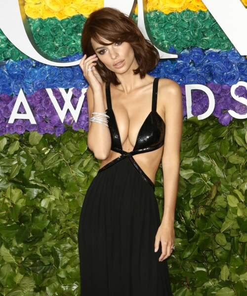 Emily Ratajkowski à la 73ème cérémonie des Tony Awards