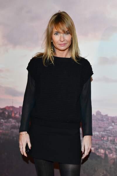 Axelle Laffont à l'avant-première d'Holy Lands, le 4 décembre à Paris