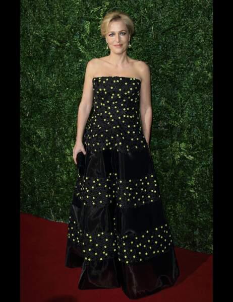 Gillian Anderson, qui a remporté le prix de la Meilleure actrice pour son rôle dans Un tramway nommé désir