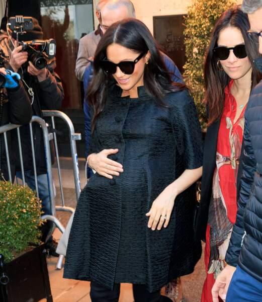 Meghan Markle prépare sa baby shower à New York