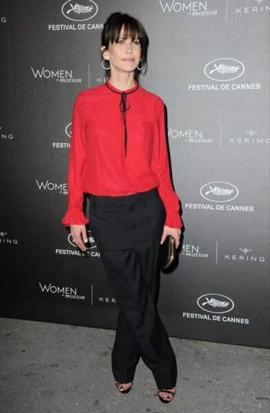 Sophie Marceau a ensuite opté pour une tenue très élégante
