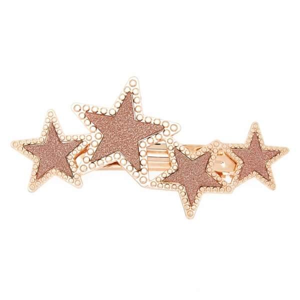 Barrette étoiles et strass, Claire's, 9,99€