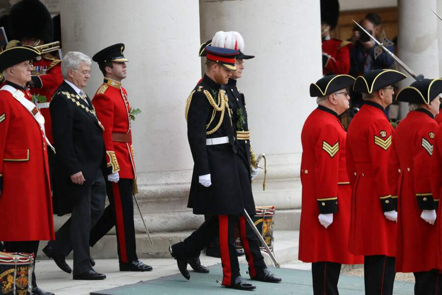 Prince Harry à Trooping the Colour, Londres