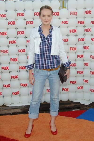 Gossip Girl 10 ans après, à quoi ressemblent les acteurs - Kaylee DeFer, alias Charlie / Ivy, en 2007