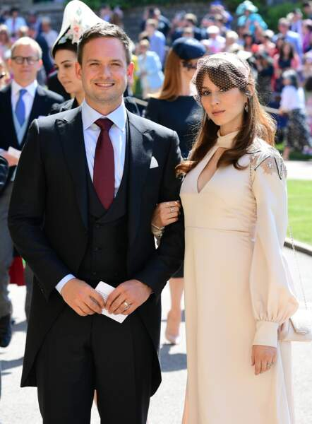 Patrick J. Adams (Suits) et son épouse Troian Bellisario