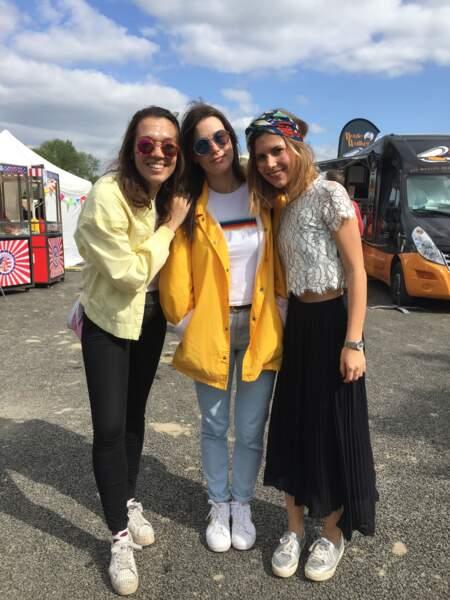 Marvellous Island Festival 2016: Lola, Marine et Pauline formaient un trio looké!